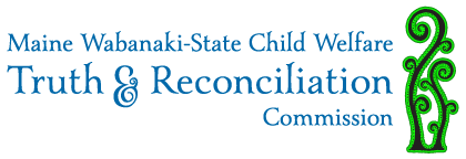 Maine Wabanaki TRC horizontal logo