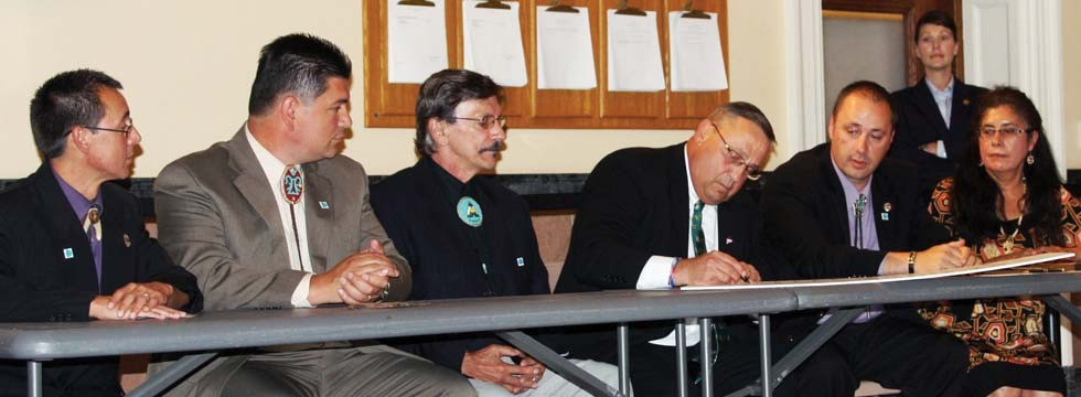 Signing of TRC Mandate photo